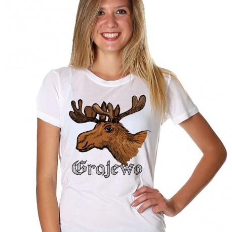 koszulka Grajewo łoś
