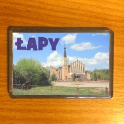 magnes Łapy kościół