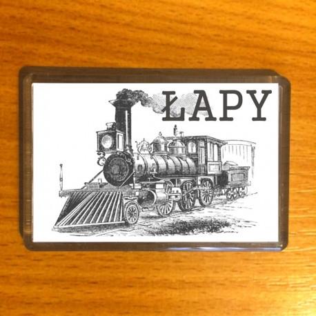 magnes Łapy lokomotywa
