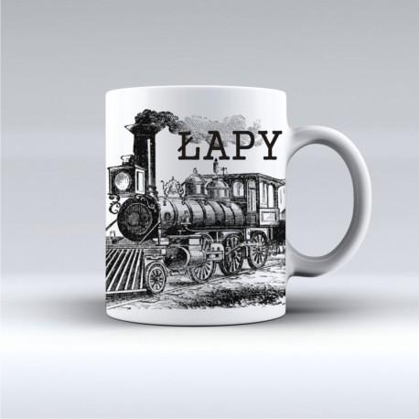 kubek Łapy lokomotywa