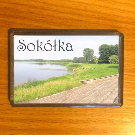 magnes Sokółka jezioro