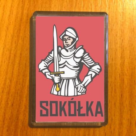 magnes Sokółka herb rycerz
