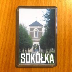 magnes Sokółka brama drzewa