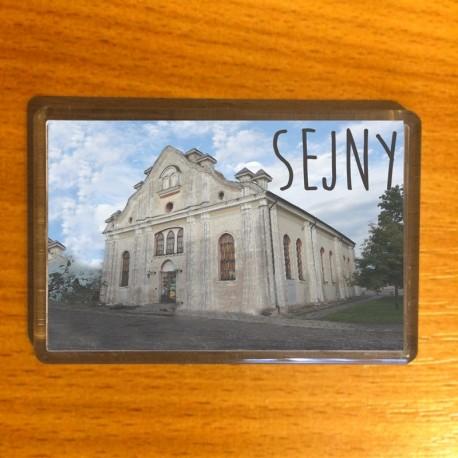 magnes Sejny synagoga