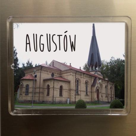 magnes Augustów kościół MB Częstochowskiej