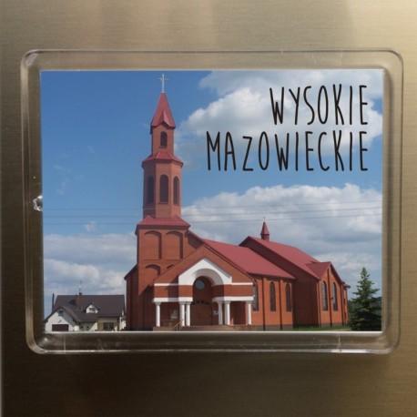 magnes Wysokie Mazowieckie kościół Apostołów