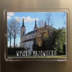 magnes Wysokie Mazowieckie kościół św. Jana Chrzciciela