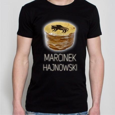 koszulka czarna Marcinek Hajnowski