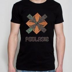 koszulka czarna podlasie metalowe okucie