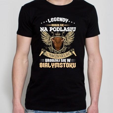 koszulka czarna legendy rodzą się na podlasiu
