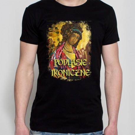 Koszulka czarna Podlasie ikoniczne