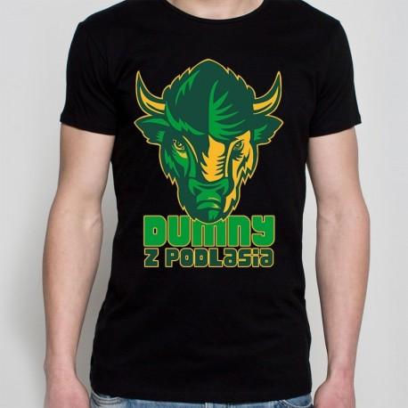 koszulka czarna dumny z podlasia 2