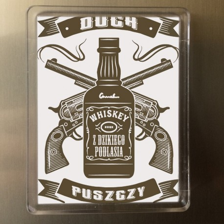 magnes duch puszczy whiskey
