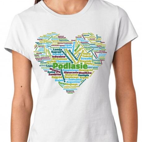 koszulka serce Podlasia