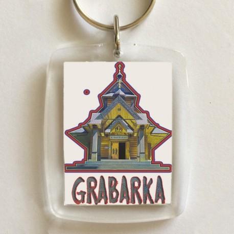 brelok Grabarka klasztor