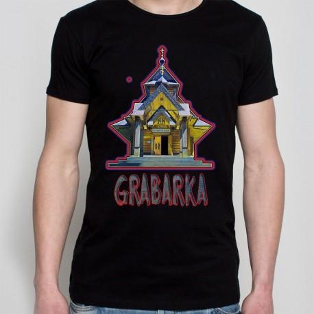 koszulka czarna Grabarka klasztor