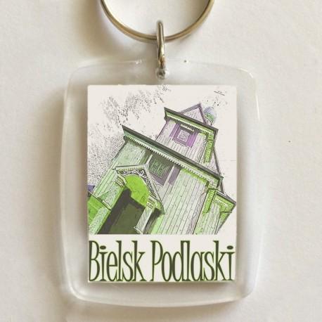 brelok Bielsk Podlaski cerkiew konkatedralna akwarela