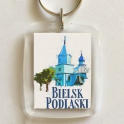 brelok Bielsk Podlaski Cerkiew św Michała akwarela