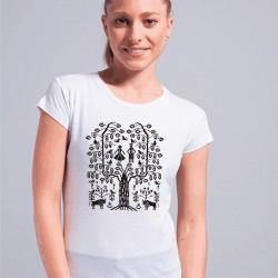 koszulka z podlaskim drzewem