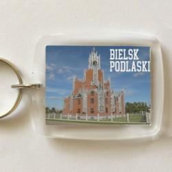 brelok Bielsk Podlaski kościół Miłosierdzia