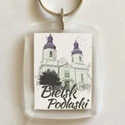 brelok Bielsk Podlaski kościół NMP akwarela
