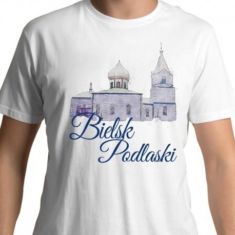 koszulka Bielsk Podlaski Cerkiew Zmartwychwstania akwarela