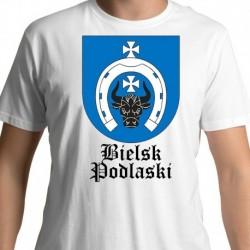 koszulka Bielsk Podlaski herb gminy