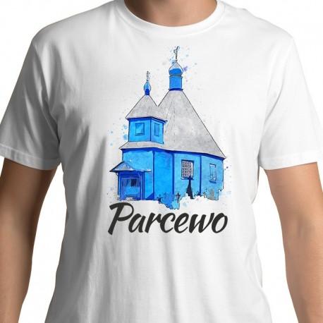 koszulka Bielsk Podlaski Parcewo cerkiew akwarela